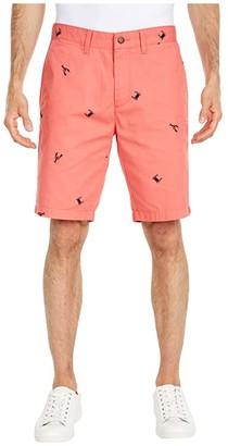 Nautica Crab Lobster Shorts (Orange) Men's Shorts