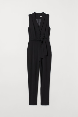 H&M Sleeveless Jumpsuit - Black