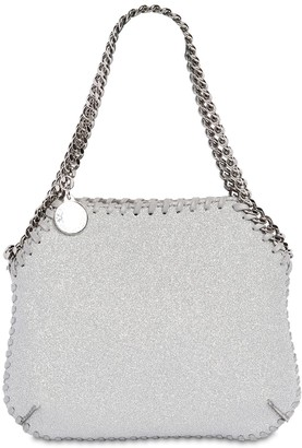 Stella McCartney Falabella Glittered Shoulder Bag