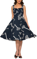 Hearts & Roses London HEARTS & ROSES LONDON Women's Special Occasion Dresses Blue - Blue Key Fit & Flare Dress - Women
