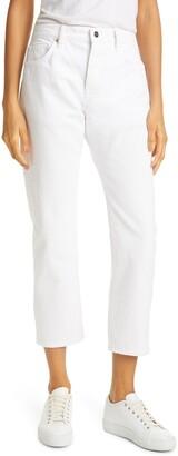 Frame Le Pixie Slouch High Waist Straight Leg Jeans