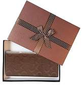 Coach Mens Breast Pocket Wallet In Signature Crossgrain Leather Mahogany F75365 Mah