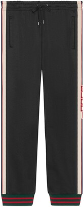 Gucci Technical jersey trousers