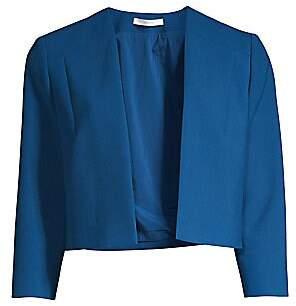 BOSS Women's Jikiva Cropped Ponte Jacket