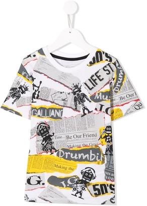 John Galliano collage T-shirt