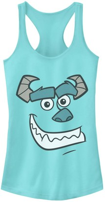 Disney Juniors' Pixar Monsters University Sulley Smile Racerback Tank