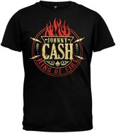 Old Glory Johnny Cash - Ring Of Fire T-Shirt