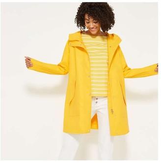 Joe Fresh Women's Raincoat, Yellow (Size M)