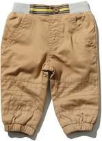 M&Co Stripe waist jogger trousers