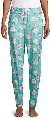 Secret Treasures Women's and Women's Plus Printed Sleep Joggers