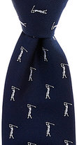 Daniel Cremieux Golfer Traditional Silk Tie