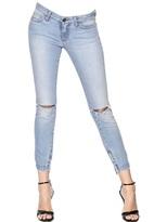 Dolce & Gabbana Stretch Washed Cotton Denim Jeans