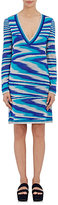 Missoni Women's Space-Dyed Long-Sleeve Dress-BLUE