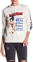 Eleven Paris ELEVENPARIS 'Real Woman Fight Crime' Wonder Woman Sweatshirt