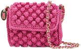 M Missoni - knitted cross body bag -