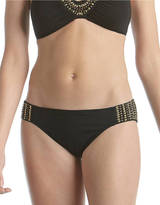 Laundry by Shelli Segal Studded Hipster Swim Bottoms