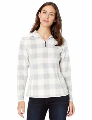 Amazon Essentials Women's Standard Quarter-Zip Polar Fleece Jacket