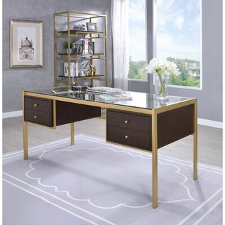 Jordynn Glass Desk Mercer41