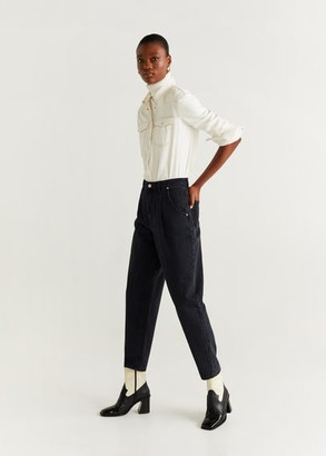 MANGO Jeans Slouchy Regina off white - 1 - Women