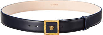Versace Square Medusa Leather Belt
