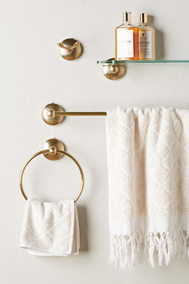 Anthropologie Hammered Towel Bar By in Yellow Size XXL