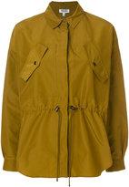 Kenzo Peplum shirt jacket