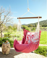 Horchow Pink Swinging Chair