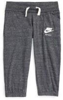 Nike 'Vintage' Capri Sweatpants (Big Girls)