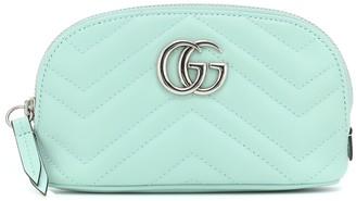 Gucci GG Marmont Small leather cosmetics case