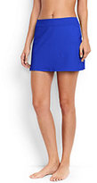 Lands' End Women's SwimMini Skirt Control-Expedition Green