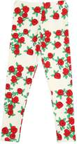 Mini Rodini Roses Organic Cotton Jersey Leggings
