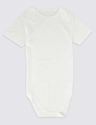 Marks and Spencer Adaptive Pure Cotton Bodysuit (9-16 Yrs)