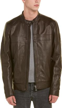 Belstaff A.Racer Leather Jacket