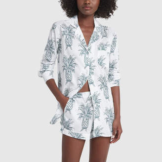 Desmond & Dempsey Signature Printed Pajama Set
