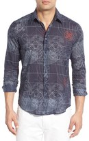 Vilebrequin Men's Regular Fit Sonar Print Sport Shirt