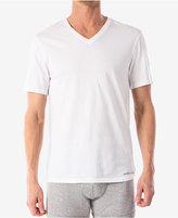 Michael Kors men's essentials cotton v-neck Undershirts, 3-pack