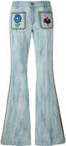 Gucci Denim Flared Jeans