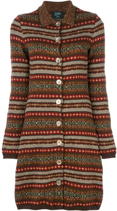 Jean Paul Gaultier Pre Owned Long Knitted Cardigan
