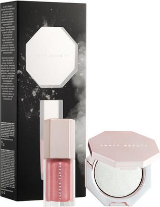 Fenty Beauty By Rihanna Diamond Bomb Baby Mini Lip Gloss and Highlighter Set
