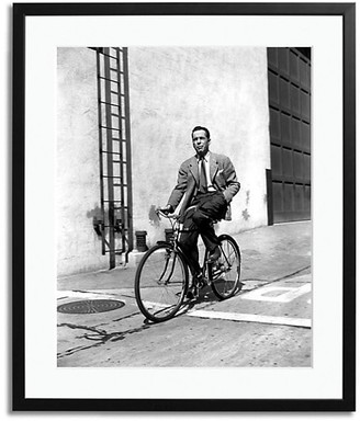 Sonic Editions Bogart On A Bicycle Print