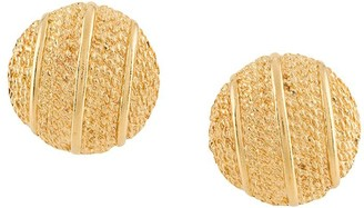 Susan Caplan Vintage 1980's Paolo Gucci clip-on earrings