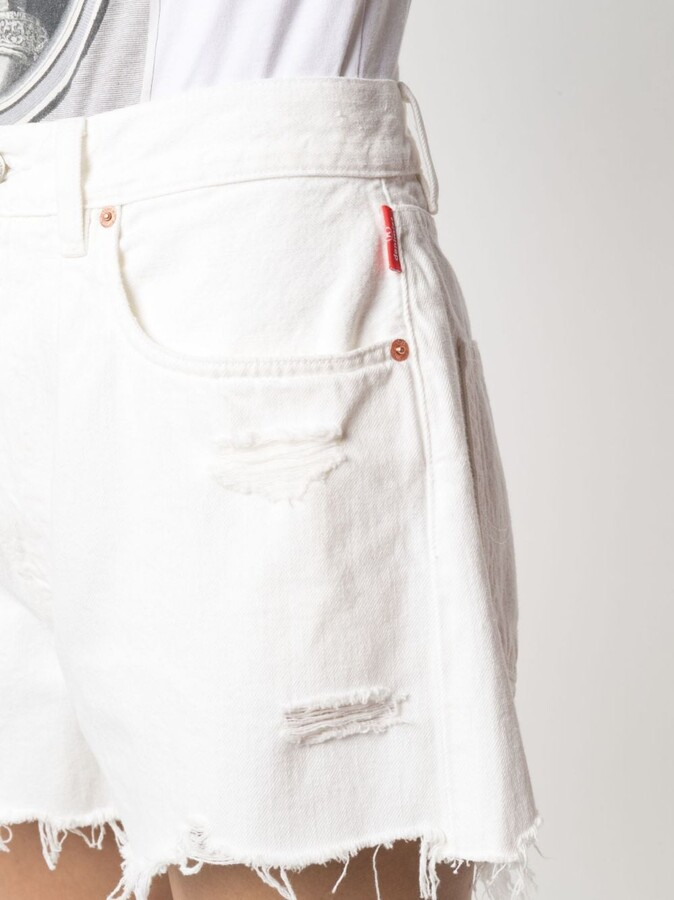 Thumbnail for your product : Denimist Ripped-Detail Shorts