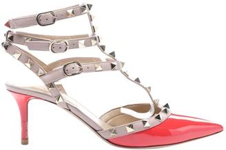 Valentino Rockstud Red Patent leather Heels