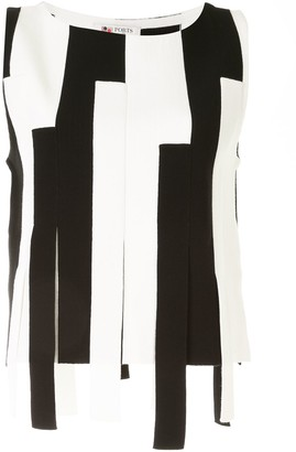 Ports 1961 Striped Sleeveless Top