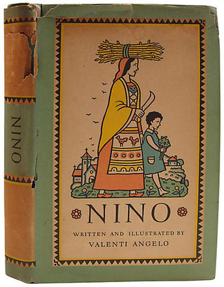 One Kings Lane Vintage Nino - Artifax Antiques - green/multi