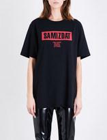 Yang Li Samizdat cotton-jersey T-shirt