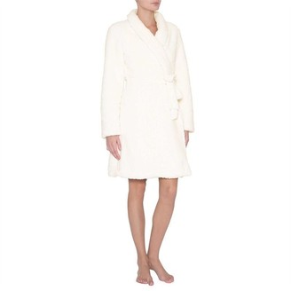Eberjey Alpine Chic The Sherpa Robe Ivory L