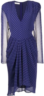 Philosophy di Lorenzo Serafini Polka-Dot Midi Dress