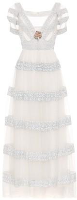 LoveShackFancy Jimmie floral maxi dress