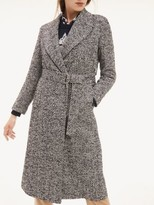 Tommy Hilfiger Belted Wool Blend Coat